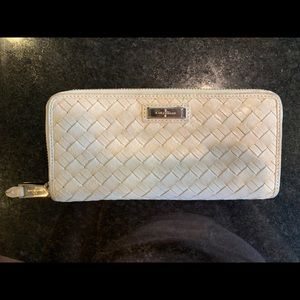 Cole Haan Weave leather wallet